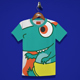 Baby Dino Kids T-Shirt Design