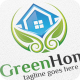 Green Home / House - Logo Template