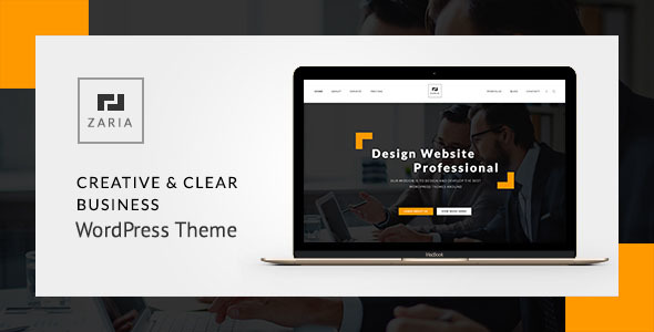 Download  Zaria - A Beautiful & Smart Business WordPress Theme nulled download