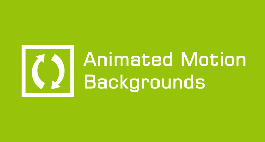 Animated Motion Backgrounds