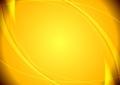 Abstract yellow wavy pattern