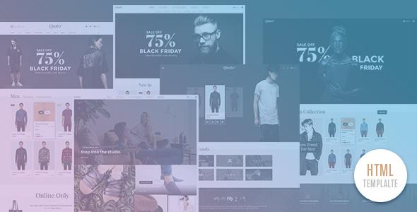 Quato - Multi Store Responsive HTML Template