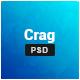 Crag - Creative Resume CV PSD Template