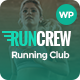 RunCrew - Running Club & Marathon WordPress Theme