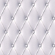 White Button-Tufted Leather Background