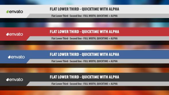 Flat Ala Kolmas - Ala Thirds Motion Graphics