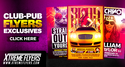Club Pub Flyers Collection