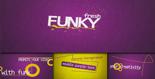 After Effects Project - VideoHive Funky Fresh 1638494