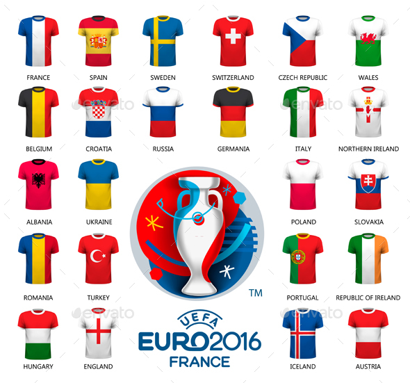 Different Flag Football Jerseys