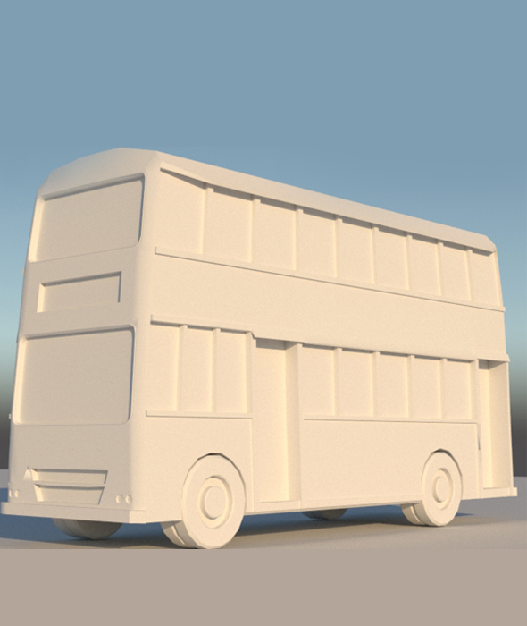 BRTC Bus Model - 3DOcean Item for Sale
