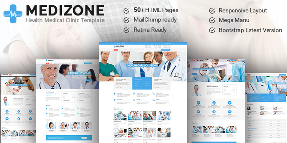 Medizone - Health & Medical Responsive HTML5 Template