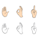 Set of people gestures - GraphicRiver Item for Sale