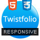 Twistfolio - A Responsive HTML5 One Page Template - ThemeForest Item for Sale