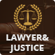 Lawyer & Justice - Theme for Lawyers Attorneys and Law Firm