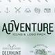Adventure Icons + Vintage Logo Pack