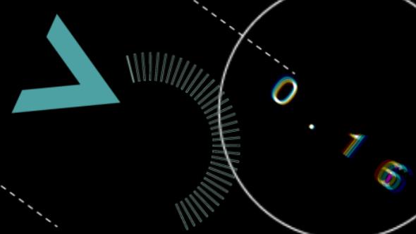 Shape Glitch Transitions - Technology Transitions Motion Graphics