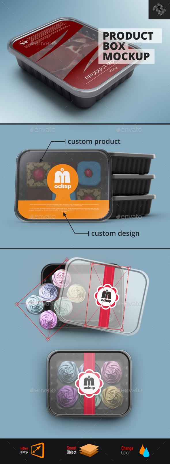 Plastic Product Box