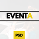 Eventa - Event Management PSD Template