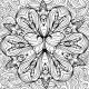 Mandala-Style Flower