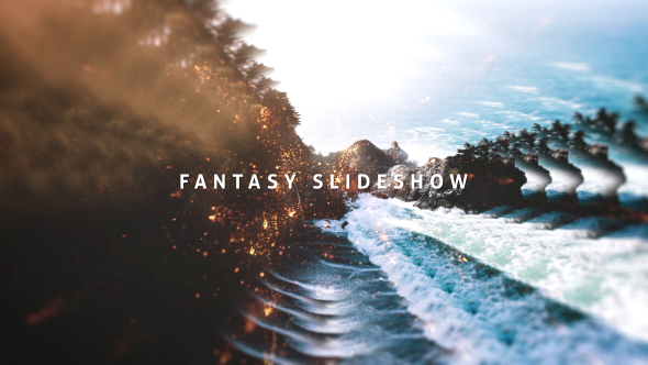 Fantasy kuvaesitys - Abstract Video Näyttää After Effects Project Files