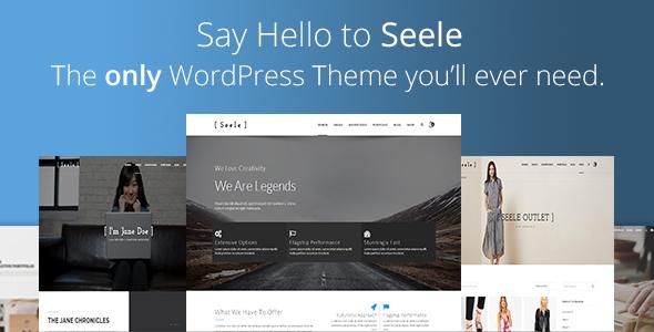 Seele – Clean Multi-Purpose WordPress Theme (Creative) Download
