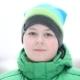 12 Year-old Boy Outside In Winter