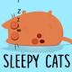 Cartoon Sleepy Cats