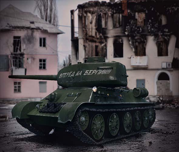 Soviet Tank T-34 - 3DOcean Item for Sale