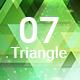 07 Shiny Triangle Backgrounds Hd