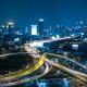 Traffic Night City
