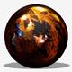 Dark Orange Cave HDRI