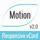 Motion - Responsive vCard Template
