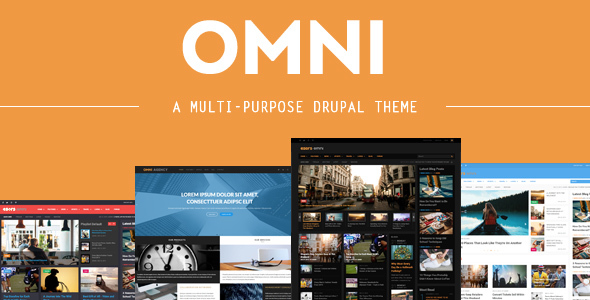 Omni - 4 in 1 - Multi-purpose Business & Magazine Styles Drupal Themes