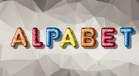 Download Low Poly Alphabet nulled download