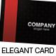 Elegant Black Pattern Card - GraphicRiver Item for Sale