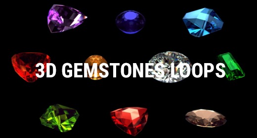 3D Gemstones Loops
