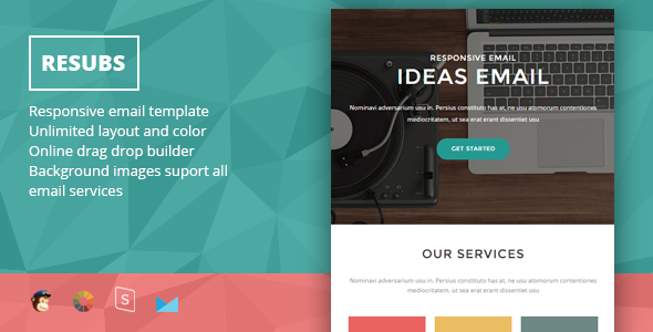 Resubs - Responsive Email + StampReady Builder