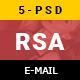 RSA Creative Multipurpose Email Template
