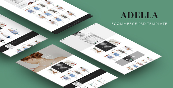 ADELLA - eCommerce PSD Template