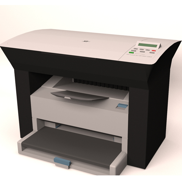 Printer - 3DOcean Item for Sale
