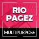 Rio Pagez Multipurpose Landing Pages