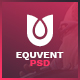 Equvent - Event and Conference Landing Page PSD template