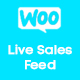 Live Sales Feed for WooCommerce