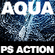 Aqua Photoshop Action