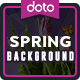 Spring Backgrounds - 6 Designs