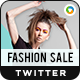 Fashion Sale Twitter Headers - 2 Designs