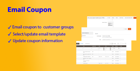 Magento 2 Email Coupon