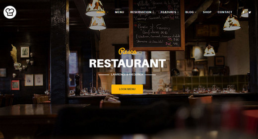 Best Restaurant Menu Templates for Joomla