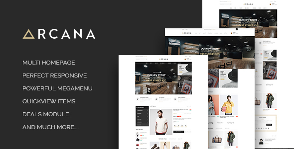 Image of ST Arcana - Responsive Shopify Theme