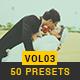 50 Lightroom Presets (V.3)